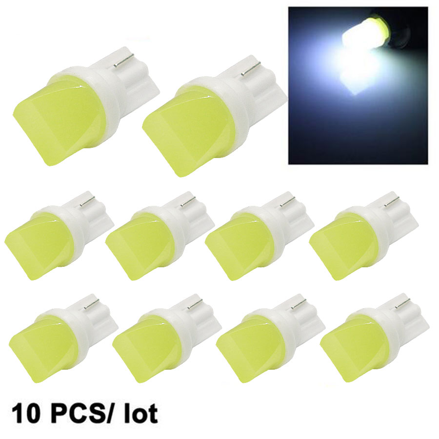 10Pcs T10 W5W 168 194 SMD 3D White Lights Wedge Light Side Bulbs For Car Tail light Side Parking Dome Door Map light cnsunnylight 10pcs canbus t10 w5w 168 194 smd led car wedge side mini bulb lamp for car tail parking dome door map light 5500k