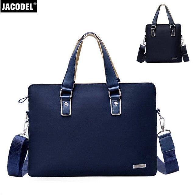 New Jacodel Men's Laptop Briefcase Bag for Macbook iPad Business Shoulder Bag 12 inch Message Bag for Xiaomi Air Laptop Handbag