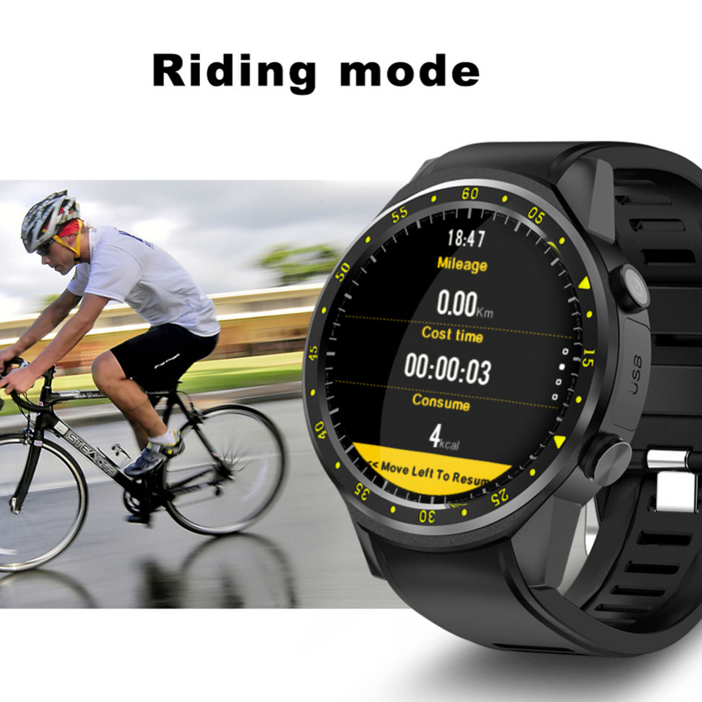 2020 New Bluetooth 4.0 Full Round High definition IPS Touch Screen Chip Smart GPS Sports Watch Phone for IOS /Android /Samsung - 5