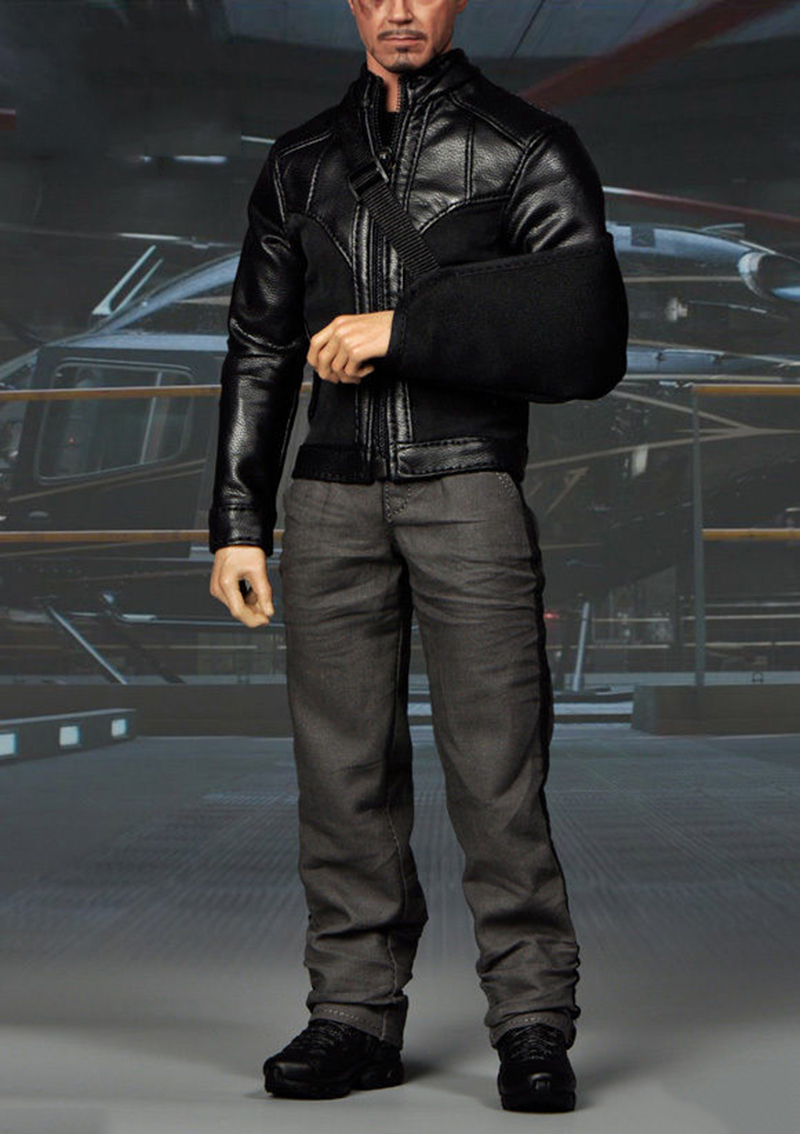 1/6 Scale Iron Clothes Set Man Tony Stark Clothes For 12 inches Male Action Figure Accessories