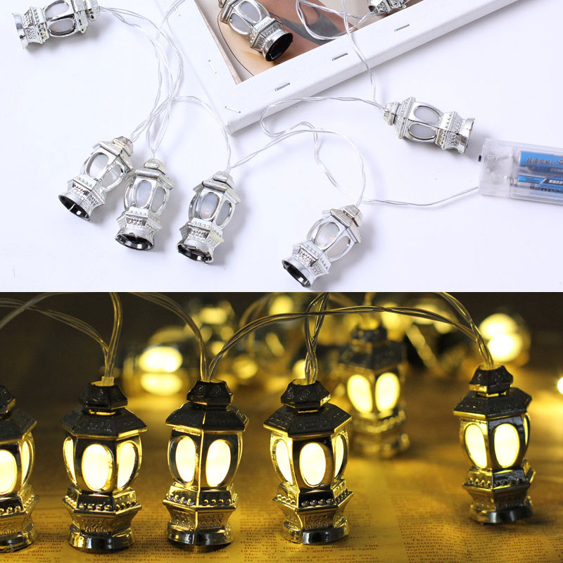 2019 1.6M Led String Fairy Light Ramadan Festival Decorations Lantern Lights Christmas Outdoor For Home Holiday Garden A