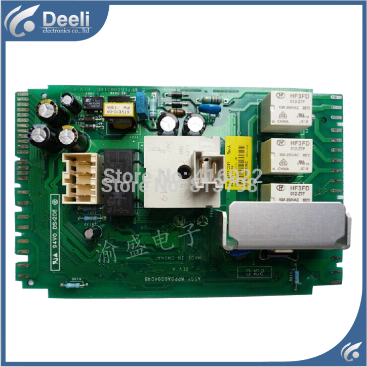 Free shipping 100% tested for washing machine computer board motherboard W10364085 on sale 100% tested for washing machine board wd n80051 6871en1015d 6870ec9099a 1 motherboard used board
