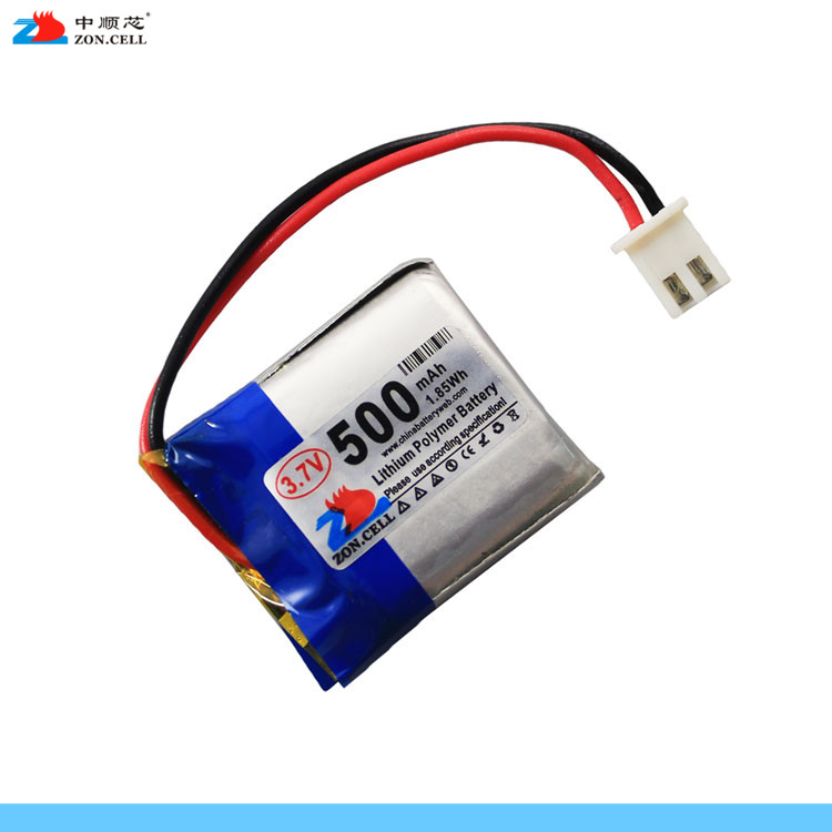 In the core 500mAh 652525 3.7V lithium polymer battery <font><b>602525</b></font> MP3 point reading pen remote control Rechargeable Li-ion Cell image