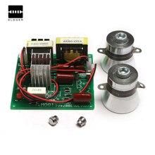 1 PC 50 W 40 K transducteurs + 1 PCS AC 220 V nettoyeur À Ultrasons conseil de conducteur de puissance Faible-puissance machine de nettoyage à ultrasons Intégré