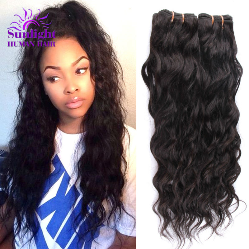 Online Shop Brazilian Virgin Hair Water Wave 3 Bundles Wet And Wavy