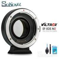 Viltrox EF EOS M2 AF авто фокус EXIF 0.71X уменьшить Скорость Booster адаптер для объектива turbo для объектива Canon EF к EOS M6 M50 M100 Камера