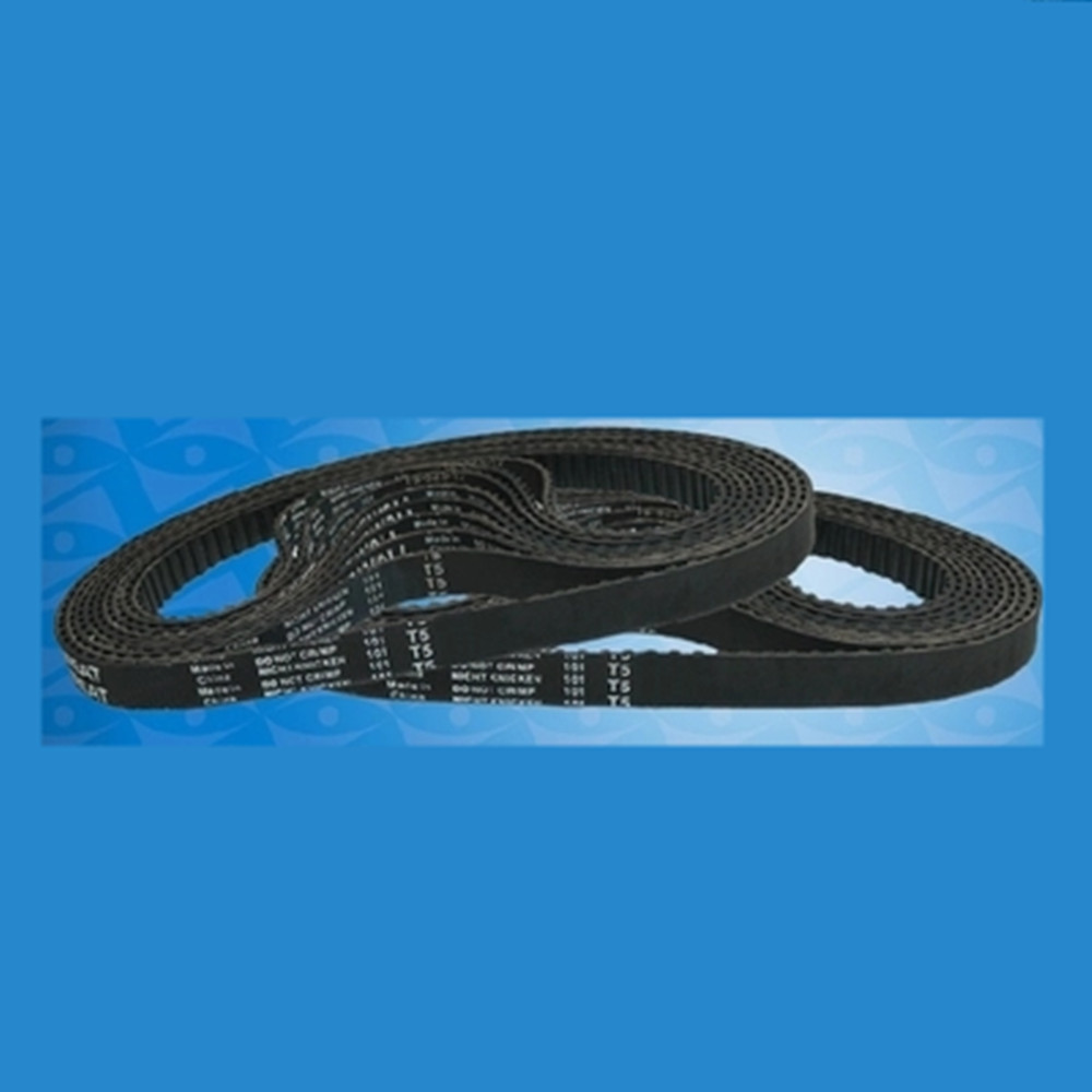 10mm Width T5-720/740/860/870/1100/1260/1300 Black Rubber Timing Belt 5mm Pitch