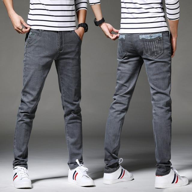 Men's Denim Distressed Skinny Jeans 3