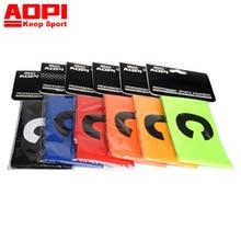 AOPI Brand 1set 2pcs New Breathable Nylon font b Football b font Soccer Flexible Sports Adjustable