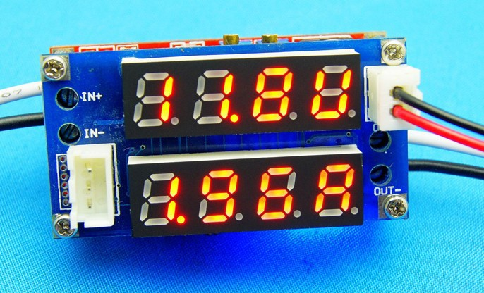Freeshipping Lithium ion battery module 5A ampere-voltage meter hp laserjet pro m435nw
