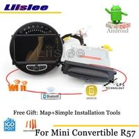 Liislee Car Android Multimedia For Mini Convertible R57 2009~2017 Stereo Radio Audio TV Carplay GPS Navi Map Navigation System