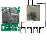 1 PC New Arrival 4S 100A 12 V Equilíbrio Para BMS LiFePo4 Para A Vida 18650 Célula de Bateria Protecção Bordo PCB módulo