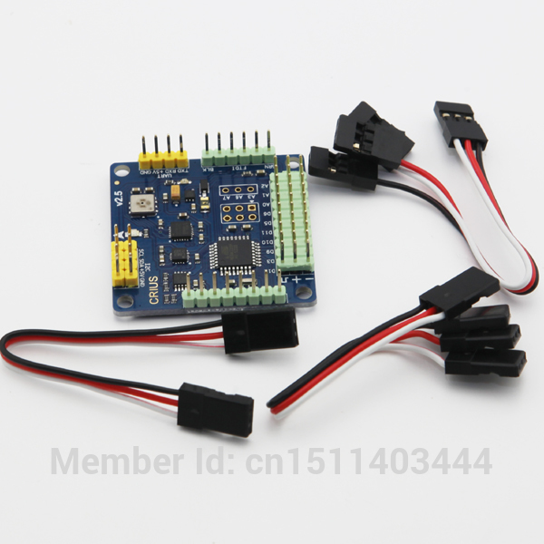 CRIUS MultiWii Standard Edition Flight Controller MWC SE v2.5 Supported 2-axis G