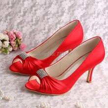 (20สี)ที่กำหนดเองที่ทำด้วยมือเปิดนิ้วเท้าส้นเท้าสีแดงปั๊มรองเท้าแต่งงานเจ้าสาว8เซนติเมตร