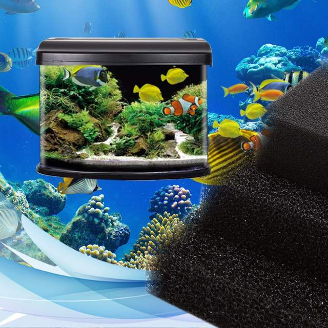 online shop activated carbon filtration foam pad filter aquarium