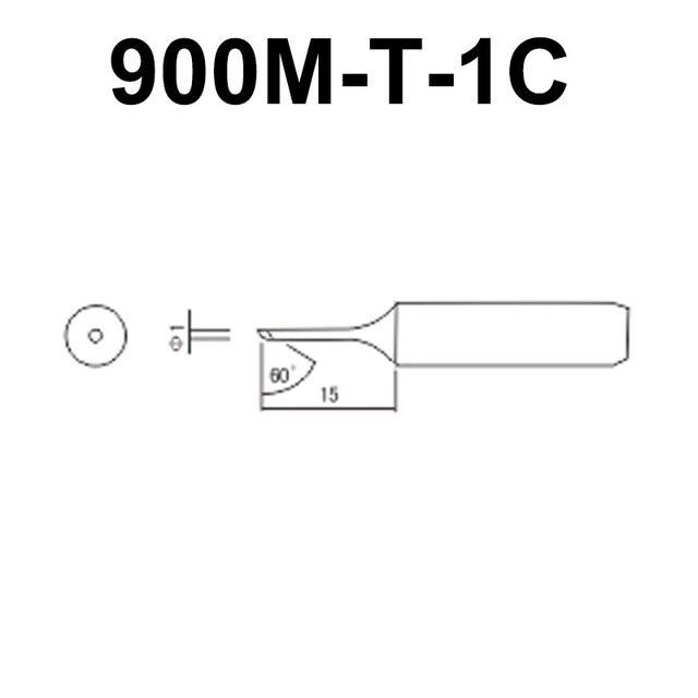 900M-T Series Solder Tip Soldering Bits Welding Head Iron Tip for BGA Soldering Rework Station Repair Tools