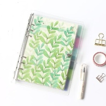 Planner Time 6pcs/set A5/A6 6 Holes Colored Notebook's Index