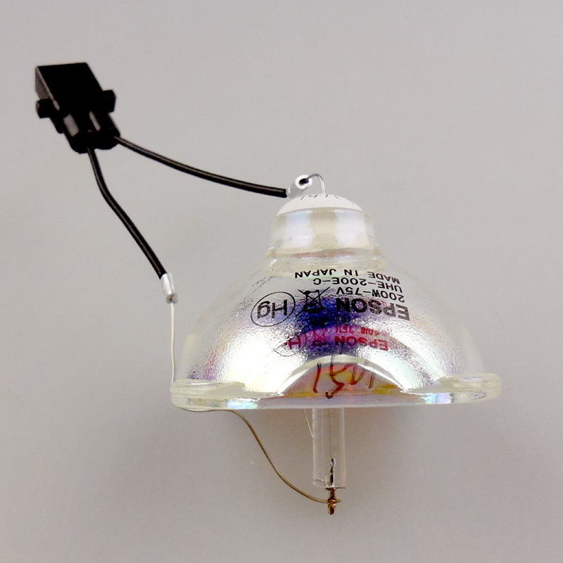 Original ELPLP67/ V13H010L67 Bare Projector Lamp For EPSON EB X12 ...