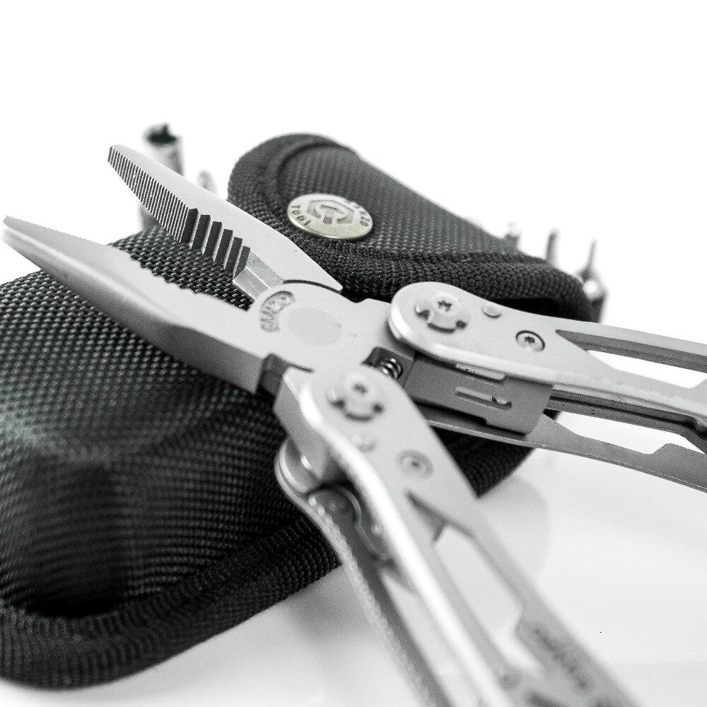Ganzo Multi Zange G202 24 Werkzeug In Einem Hand Werkzeug Schraubendreher Kit Tragbare Edelstahl Multitool Falten Falten Messer Zangen Lange Nase Zangen Handwerkzeuge