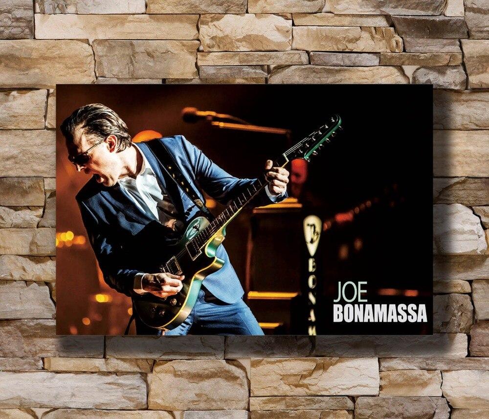 Joe Bonamassa Custom Silk Poster Wall Decor