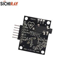 AD8232 Heart Sensor  Ecg Measurement Heart Rate Pulse Ecg Monitoring  Sensors Accessories Module Kit  For Arduino