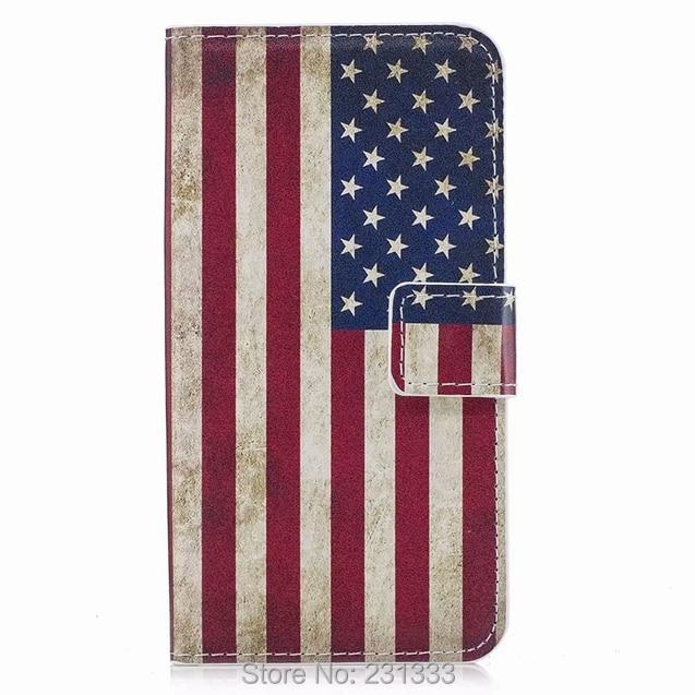 C-ку США Бумажник кожаный чехол для samsung Galaxy S9 S8 плюс S7 S6 край C5 C7 J3 про цветок стенд ID Card мультфильм Обложка 1 шт.