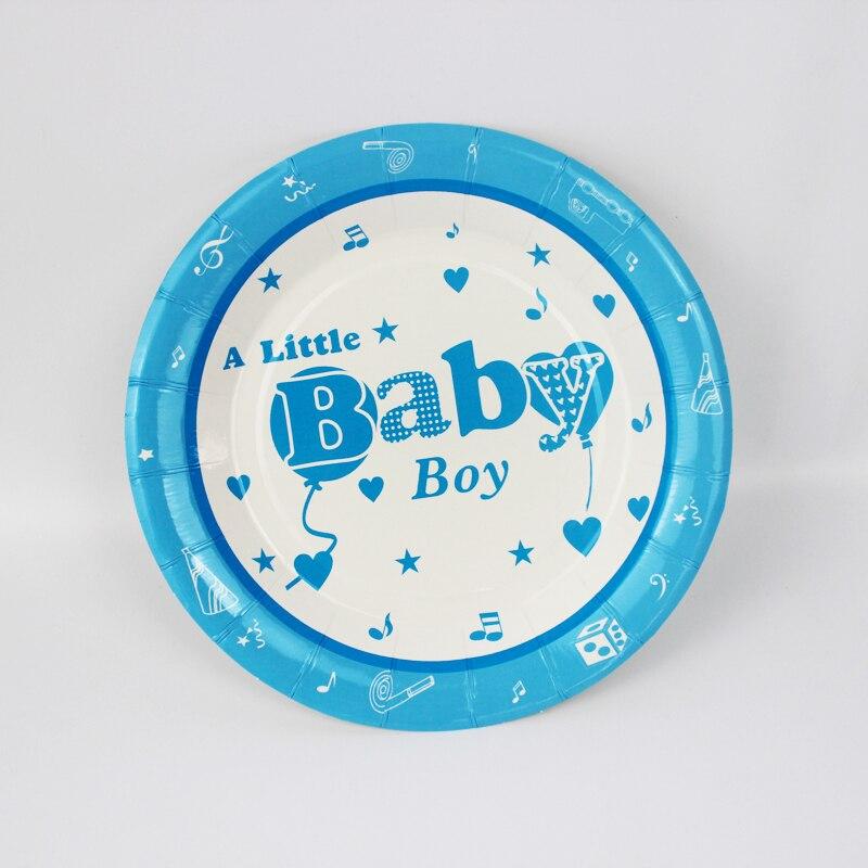 ᐅ6 unids 7 pulgadas azul pequeño bebé patrón de dibujos animados ...