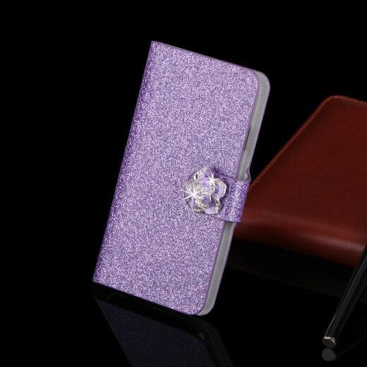 Lyxväska läderfodral för Samsung Galaxy Grand Prime G530 G530H - Reservdelar och tillbehör för mobiltelefoner - Foto 4
