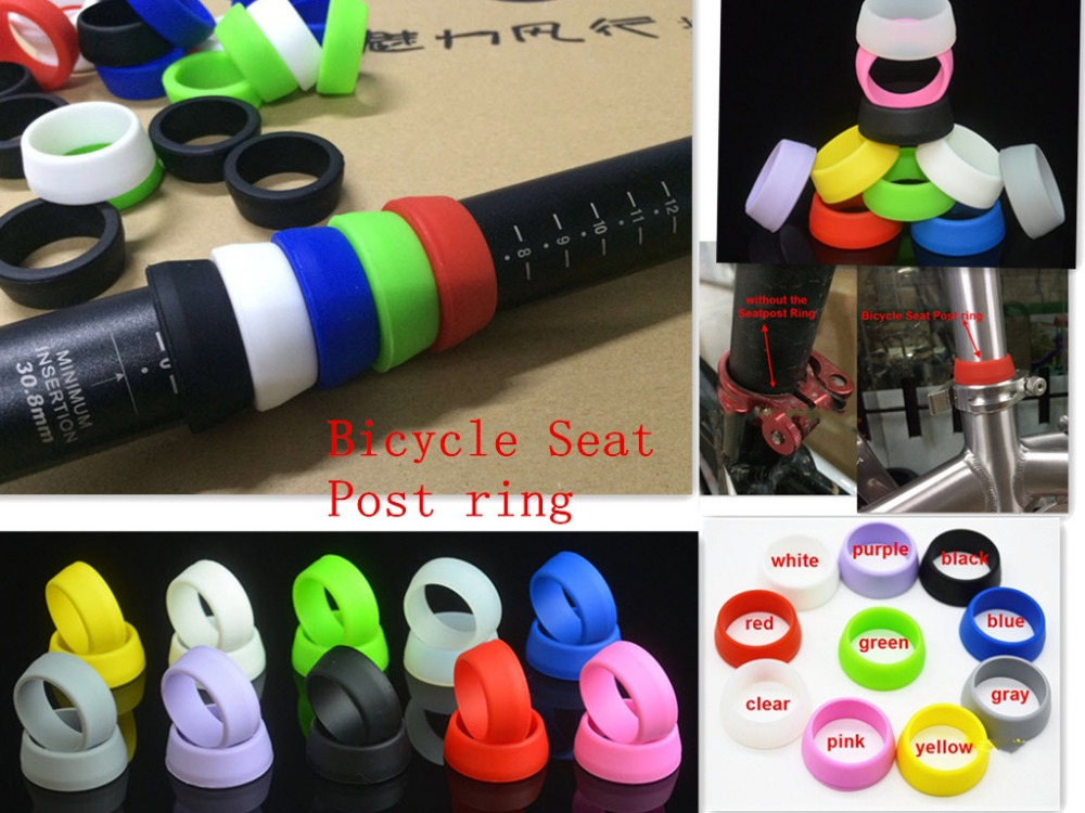 1pc cycling Seatposts <font><b>Clamps</b></font> Bicycle Seatpost Component <font><b>Part</b></font> <font><b>bike</b></font> Seatpost Ring Bicycle Seat Post ring Bicycle <font><b>Parts</b></font> repair tool image