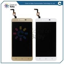 ЖК-дисплей и дигитайзер сенсорного экрана в сборе, для Lenovo vibe k5 plus A6020 k5 A6020a46, черный/белый/золотой цвет, замена