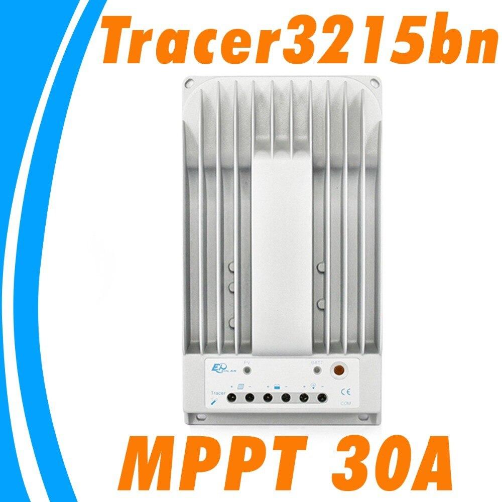 30A <font><b>solar</b></font> charge controller <font><b>MPPT</b></font> <font><b>Solar</b></font> <font><b>Panel</b></font> Controller 12V 24V auto Regulator EPsolar Tracer3215BN Tracer <font><b>MPPT</b></font> <font><b>Charger</b></font> 30 amps
