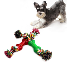 Resistant molar tooth cleaning / training dog toy