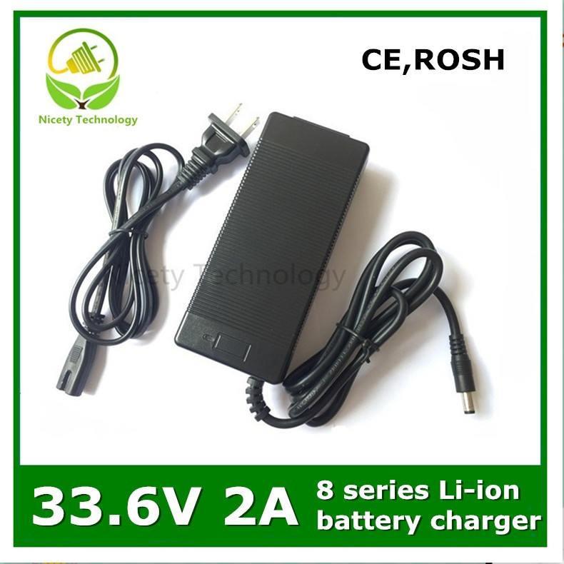 33.6v2a  INPUT100-240V  OUT PUT DC: 33.6V 2A charger for 8series lithium li-ion  battery  good quality warranty