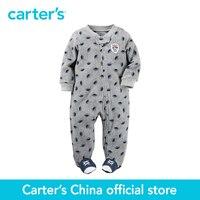 Carter S 1 Pcs Baby Children Kids Fleece Zip Up Sleep Play 115G161 Sold By Carter