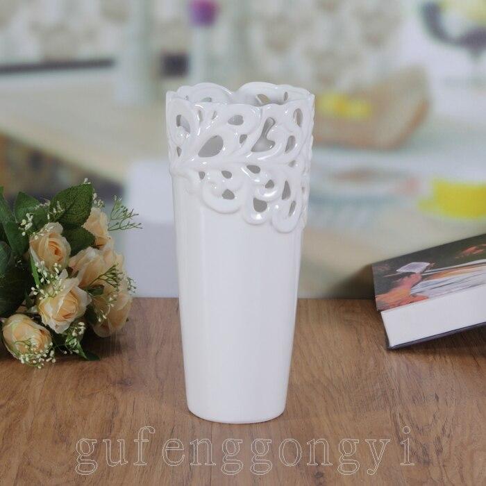 online kaufen gro handel vase wei aus china vase wei. Black Bedroom Furniture Sets. Home Design Ideas