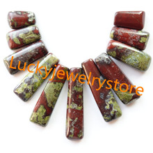 Buy bloodstone pendant and get free shipping on aliexpress free shipping beautiful 11pcsset dragon bloodstone pendant bead shx123minorder 10 mozeypictures Images