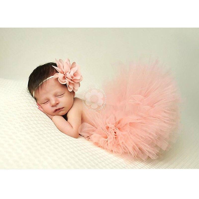 Реквизит для фотосессии новорожденных; юбка для девочек; юбка-пачка принцессы с бантом; фатиновая повязка на голову с цветочным рисунком; вязаная шапка для фотосессии - Цвет: 5