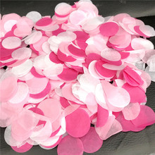Tissue-Paper Balloons Filler Confetti Bubble Wedding-Decoration Round Mix-Color Birthday-Party