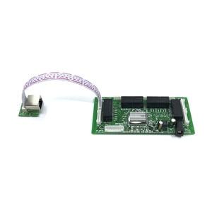 Image 5 - OEM PBC 8Port Gigabit Ethernet Switch 8Port with 8 pin way header 10/100/1000m Hub 8way power pin Pcb board OEM screw hole