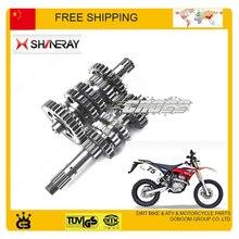 Зенкер shineray X2 X2X 250cc главный вал, вал передачи, M-4, счетчик вала, главный вал comp