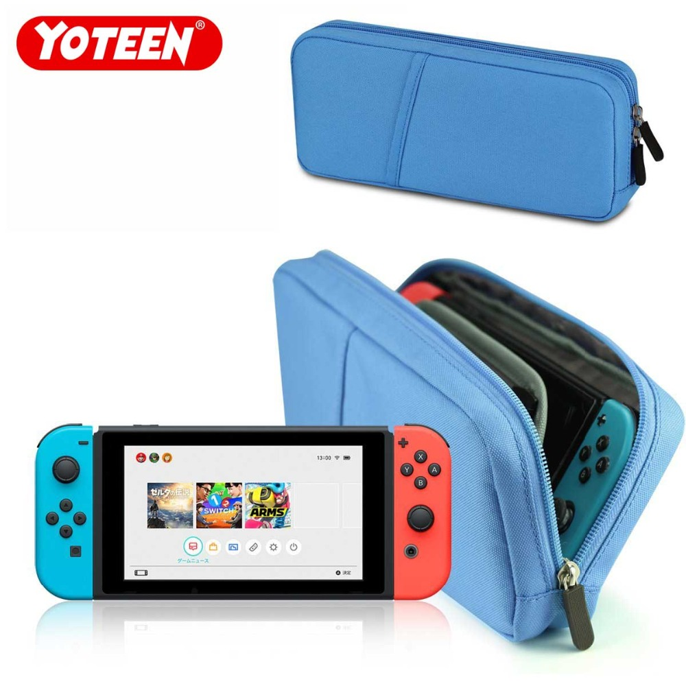 Yoteen Luxury Soft Protective Pouch Bag For Nintend Switch Console Waterproof Cover Case Game Accessories