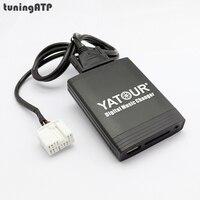 YATOUR цифровой музыки чейнджер USB SD AUX-IN MP3 Интерфейс для HONDA Civic