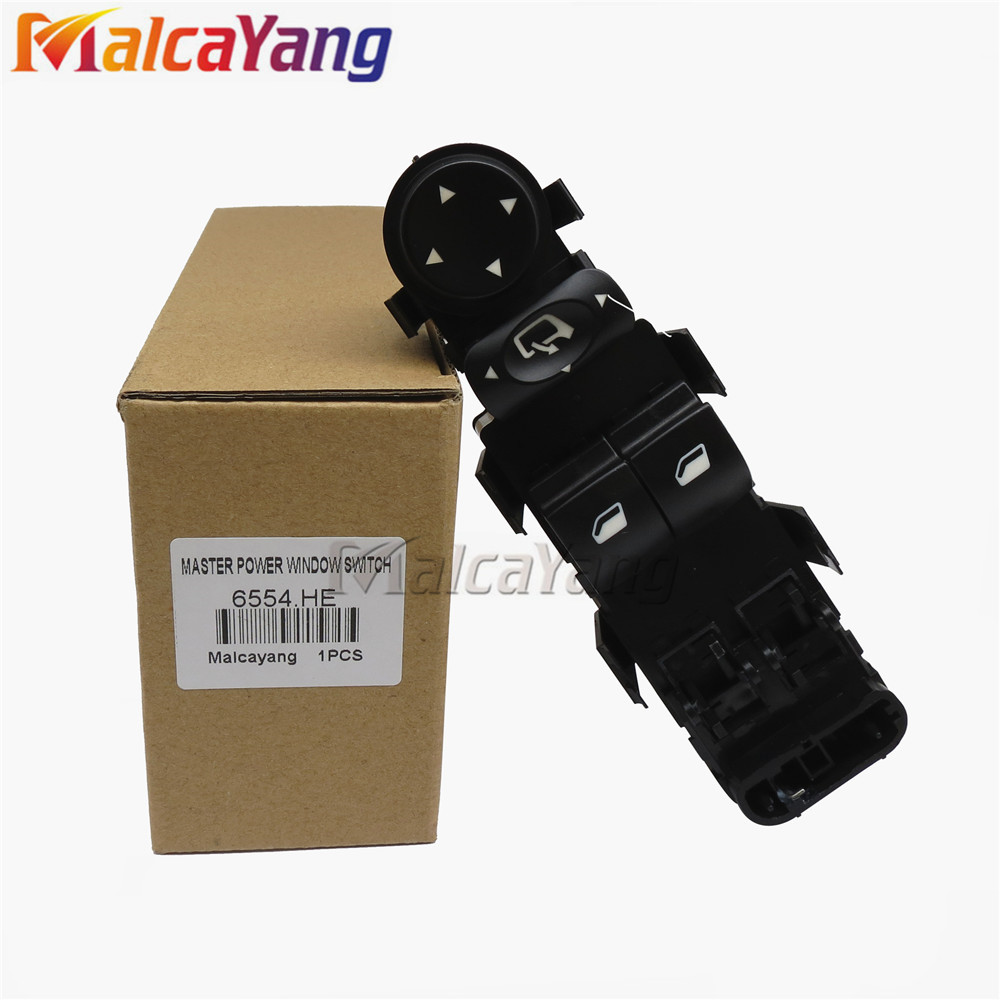 For Citroen C4 2004-2010 Master Electric Power Window Lifter Switch 9651464277 6554.HE