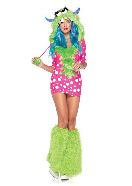 Adult Sexy Melody Monster Furry Cosplay Costume Womenu0027s Animal Theme Halloween Party Fancy Dress  sc 1 st  AliExpress.com & Adult Sexy Melody Monster Furry Cosplay Costume Womenu0027s Animal Theme ...