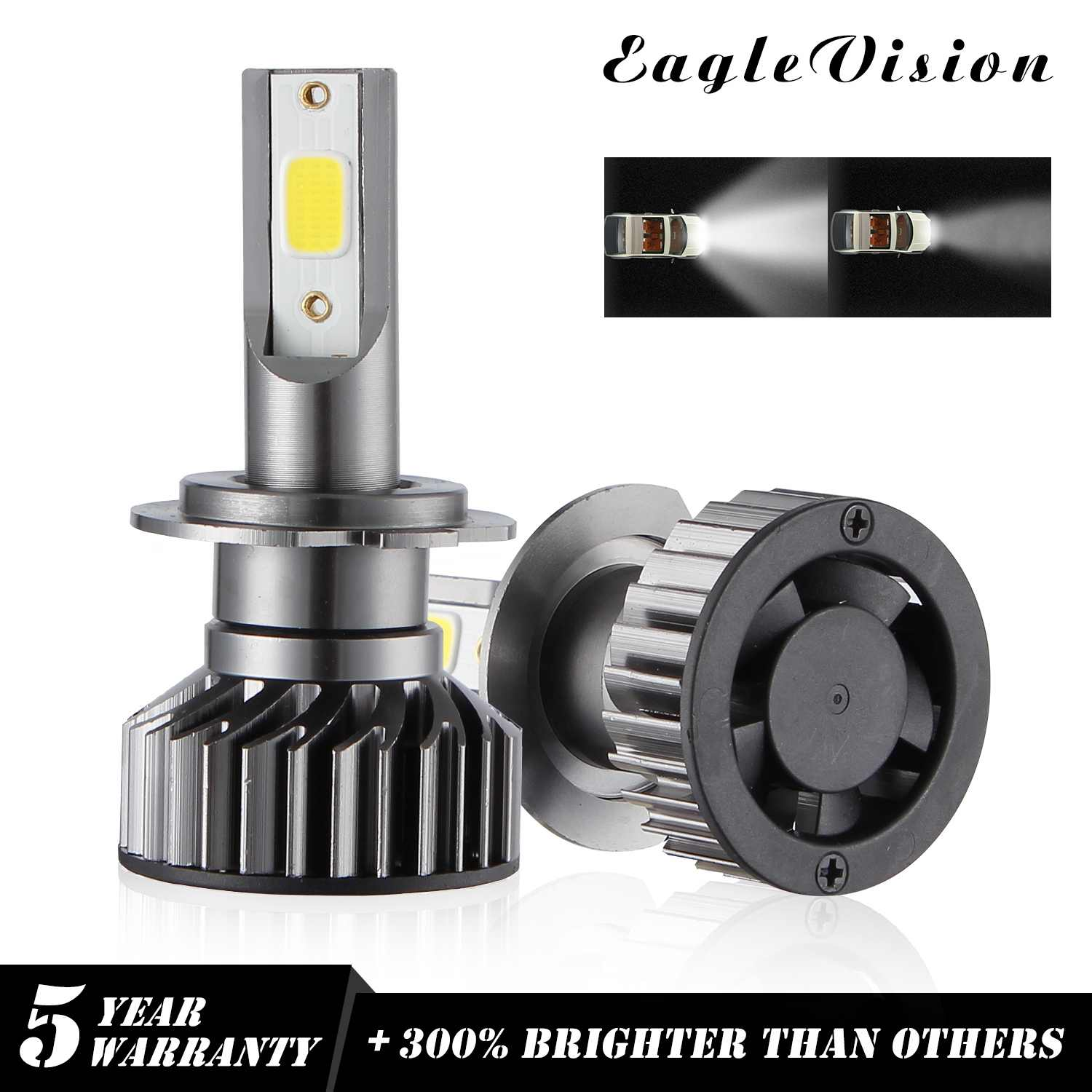 NEW Arrivals EV8 Car Lights Bulbs H7LED H11 LED H1 H4 9005 9006  Auto Headlights 12V Led Light 110W 26000LM  Led Headlight