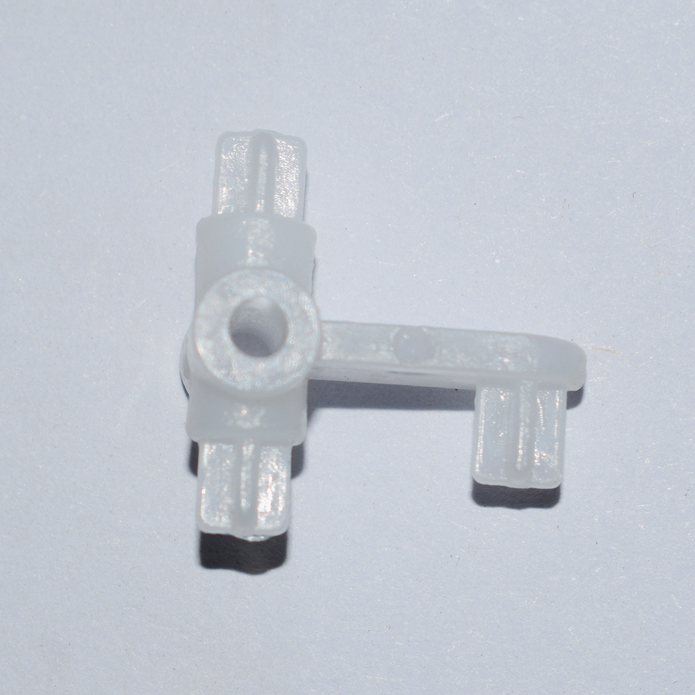 2PCS Hydraulic straight-nozzle M5-4mm excavator model with micro cylinder joint