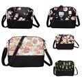 Nova Moda Saco Shell Charme Zipper Ladies Shouder Saco PU Panelled Mulheres Messenger Bags LXX9
