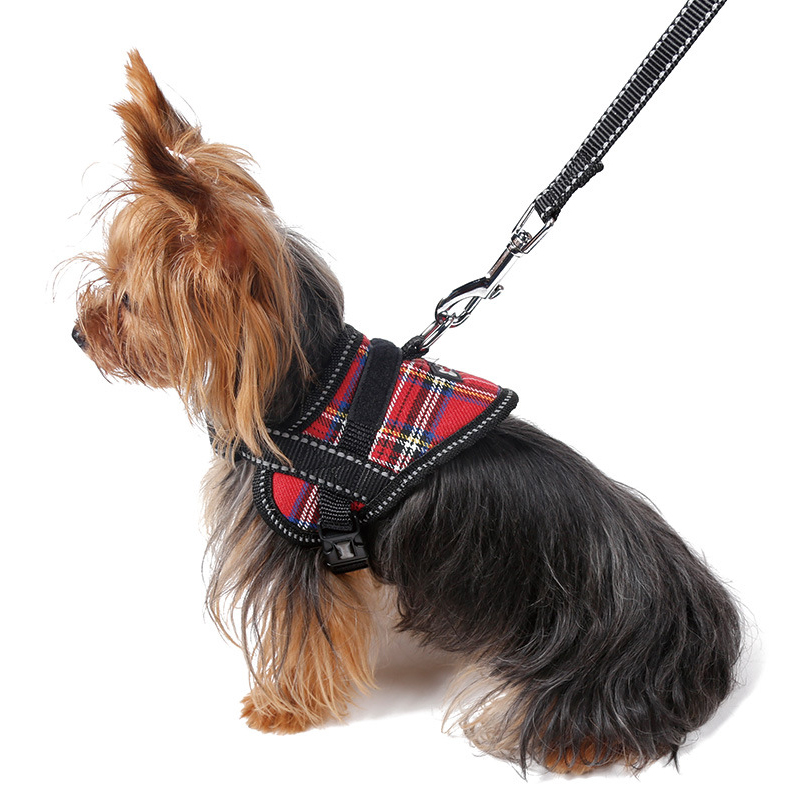 Aspiring Durable Nylon Pet Harness For Small Dogs Puppy Cats Animals Quick Release Adjustable Outdoor Walking Dog Vest Harness Leash Driving A Roaring Trade Dog Collars & Leads