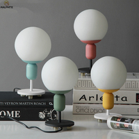 Nordic Modern table lamp simple Led desk light lamparas mesa para dormitorio Bedside Tafellamp Household deco lighting fixtures