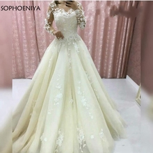 Sophoeniya wedding dress 2019 bride dress
